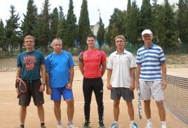 Одиночный теннисный турнир 11 октября 2015 г.